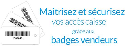 Badges vendeurs